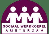 Logo Sociaal Werkkoepel Amsterdam