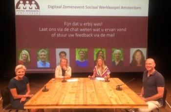 Zomerevent Sociaal Werkkoepel: sociaal werk in coronatijd
