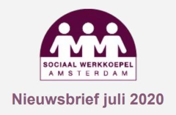 Nieuwsbrief Sociaal Werkkoepel juli 2020