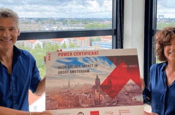 Powercertificaten als Social Return om Amsterdammers aan werk te helpen