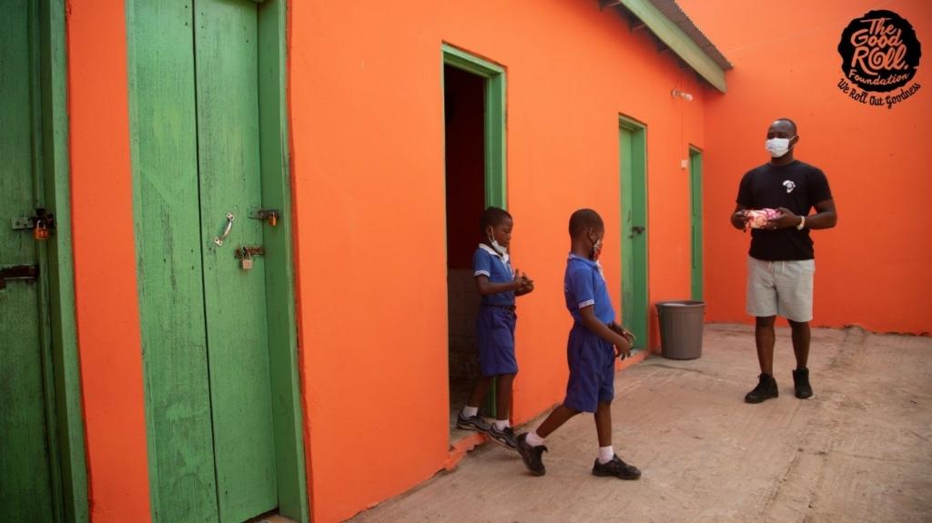 wc bouwen ghana